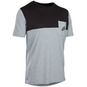 ION Seek AMP - Maillot manches courtes Homme - gris/noir